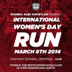 Int'l Women's Day Run ⎮ 08.03.2014