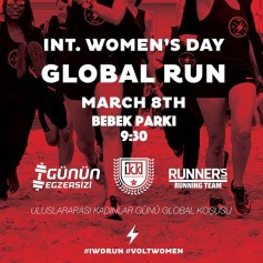 Int'l Women's Day Run ⎮ 08.03.2015