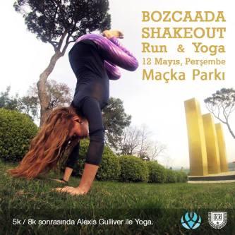Shakeout Run & Yoga ⎮ 12.05.2016