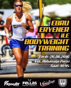 Ebru Eryener ile Bodyweight Training ⎮ 26.05.2016