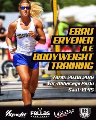 Ebru Eryener ile Bodyweight Training ⎮ 26.05.2016