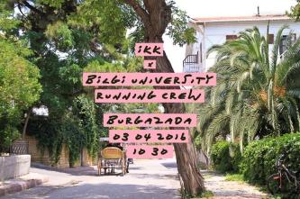 İKK x Bilgi University Running Crew ⎮ 03.04.2016