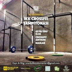 İKK Crossfit Şampiyonası ⎮ 07.02.2015