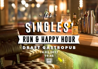 IKK Singles' Run & Happy Hour (14.02.2017)