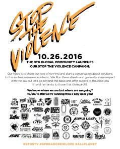 #BTGSTV   Global Şiddete Hayır Koşusu