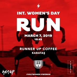 Int'l Women's Day Run Vol. 6   07.03.2019